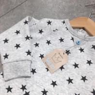 Heldress - Grå med mørke stjerner