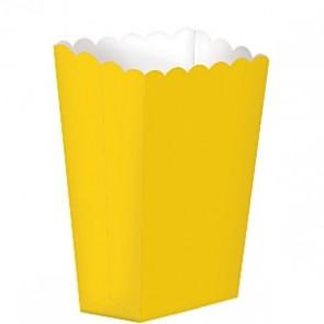 Popcorn Box - Gul