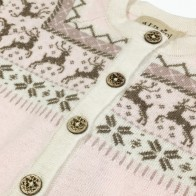 Memini Dasher Knit Coat - Pale Pink