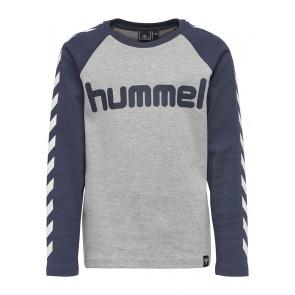 Hummel Lukas Genser - Blå & Grå