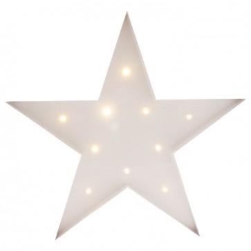 Star Ledlys - Hvit