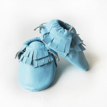 Mokkasiner - Teepee Blå