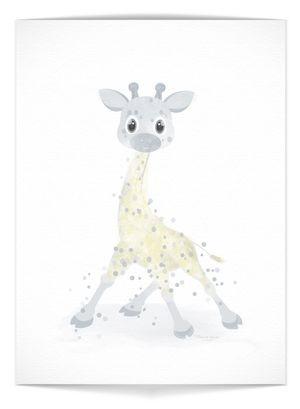 "Plakat - ""Giraffe"""