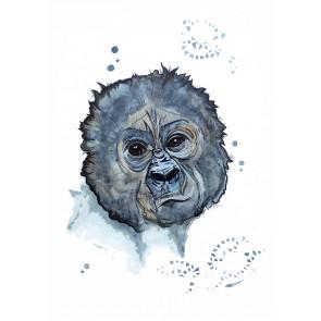 Plakat - Gorillaen George