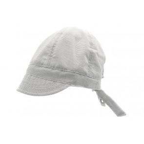 Hatt - Blå og Hvite striper