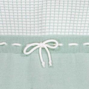 Memini Jan Knit Overall - Cool Mint *Kommer