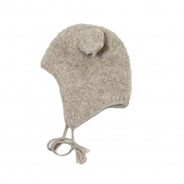 Memini Baby Bear Hat - Sand