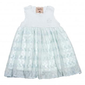 Memini Emilia Dress - Pale Blue