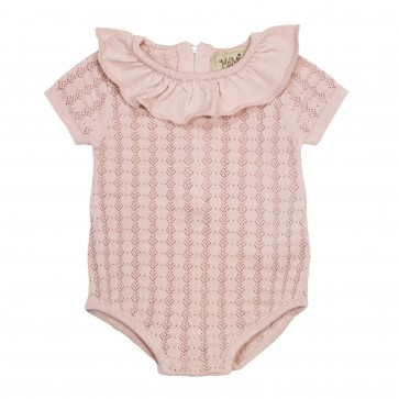Memini Romper - Rossi Faded Rose