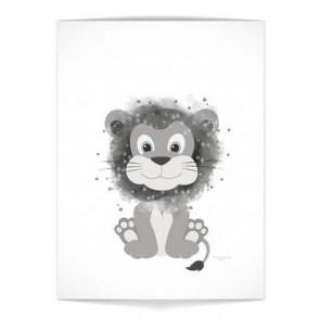 """Plakat - """"Løve"""""""