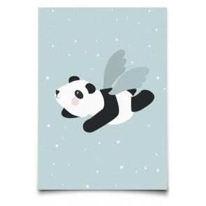 Kort - Flying Panda Mint