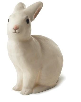 Kaninlampe - Hvit