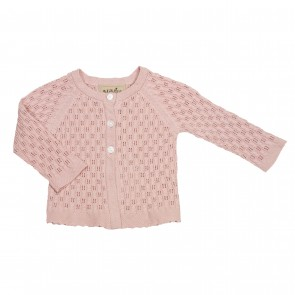 Memini Emily Cardigan - Faded Rose