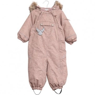 Wheat Snowsuit Nickie - Vinterdress Pudder
