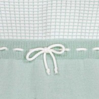 Memini Jan Knit Overall - Cool Mint