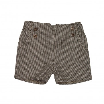 Memini Linus Shorts - Brunrutet