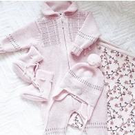 Lillelam Babytøfler - Rosa