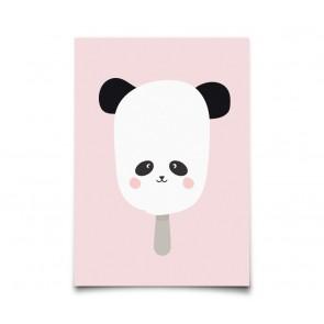 "Plakat - ""Panda  Pop"" A3"