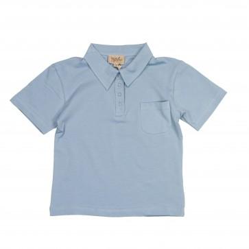 Memini Adam Polo Shirt - Cloud Blue