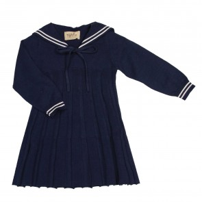 Memini Martha Sailor Dress - Navy