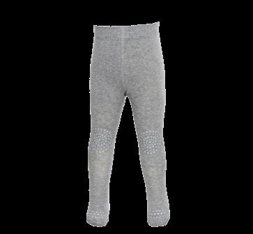 Strømpebukse med Antiskli - Grey Melange