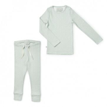 Pyjamas Sett - Sashiko Mint