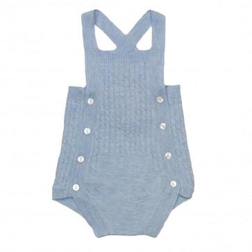 Memini Romper - Babyblå