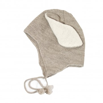 Memini Rabbit Hat - Sand