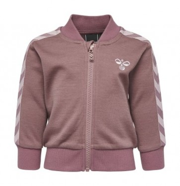 Hummel Ull - Istind Zip Jacket Grape