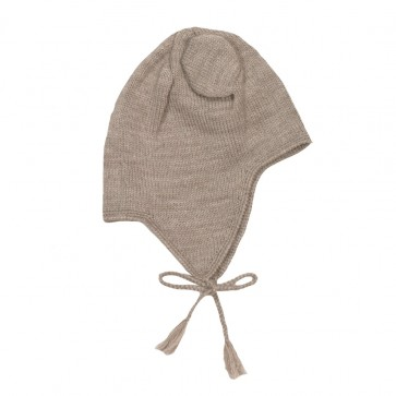 Memini Baby Bear Hat - Moon Grey