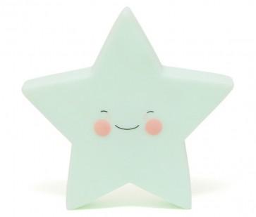 Led Lampe - Grønn Stjerne