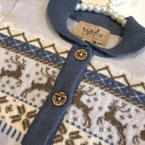 Memini Donner Cardigan - Pale Blue