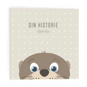 Alfabetdyr - Din Historie Beige