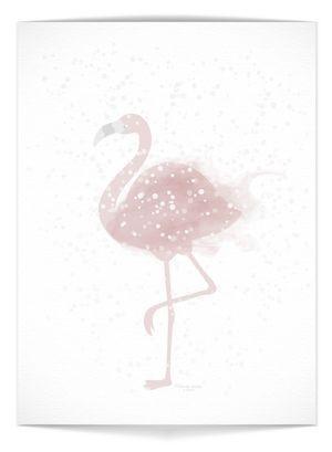 "Plakat - ""Flamingo"""