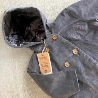 Memini Nolan Coat - Charcoal