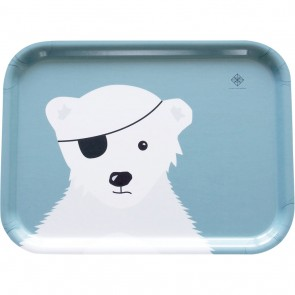 Matbrett Isbjørn - Grønn