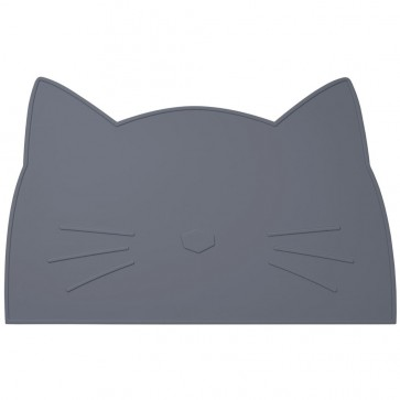 Spisebrikke Katt - Grå Liewood