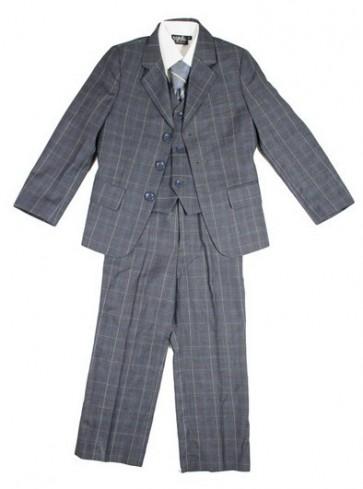 Memini Dress - Bukse, Vest & Blazer Grårutet