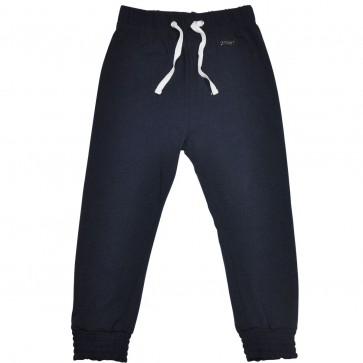 Bukse - Marineblå med snøring