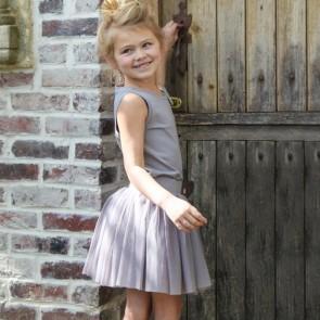 Prinsesse Balletskjørt- Grå