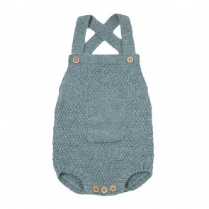 Memini Robin Romper - Dusty Blue