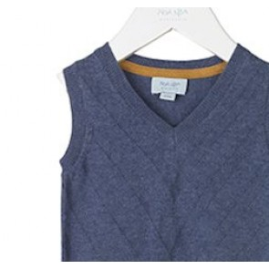 Noa Noa Miniature Vest - Vintage Indigo