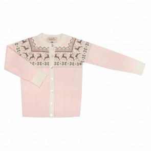 Memini Birga Cardigan - Pale Pink