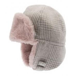 Cth Mini Vinterlue Alaska - Rosa & Grå