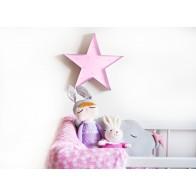 Ledlys Star - Rosa