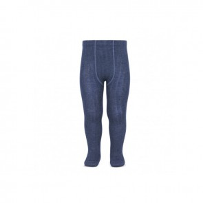 Condor Strømpebukse - Jeans Blue Ribb