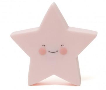 Led Lampe - Rosa Stjerne