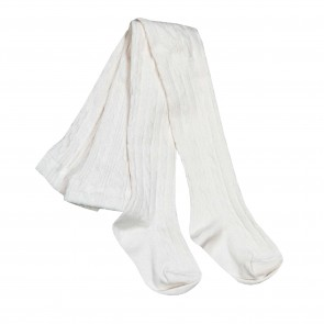 Memini Aran Tights - Egret White