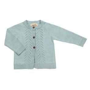 Memini Meje Cardigan - Cool Mint