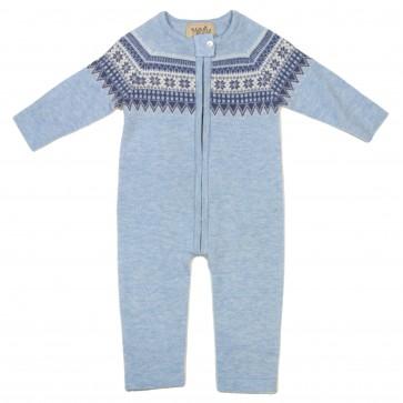 Memini Overall Star - Baby blue